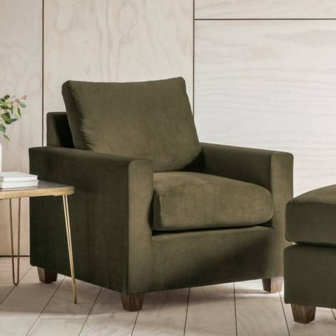 Gallery Stratford Armchair in Field Army