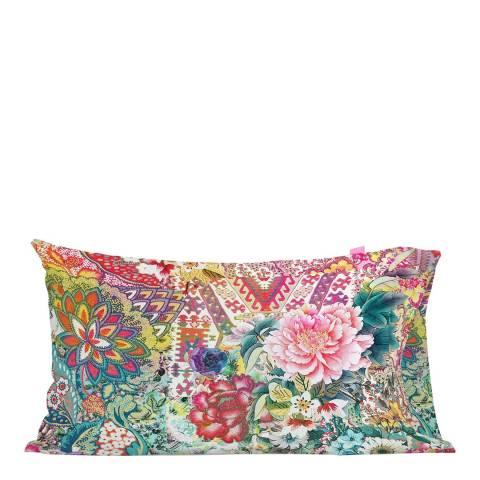 Happy Friday Boho Chic Pair of Pillowcases