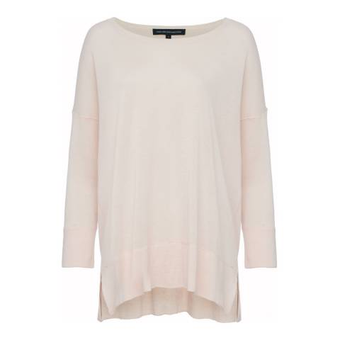French Connection Capri Blush Spring Light Knitted Jumper