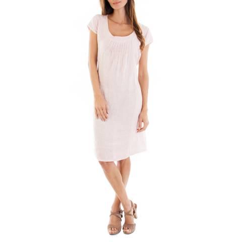 Toutes belles en LIN Rose Paris Linen Dress