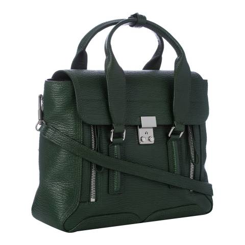 3.1 Phillip Lim Green Leather jade Medium Satchel