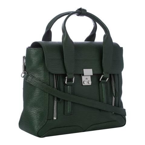 3.1 Phillip Lim Green Leather jade Medium Satchel