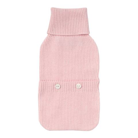 Laycuna London Pink Cashmere Hotwater Bottle Cover