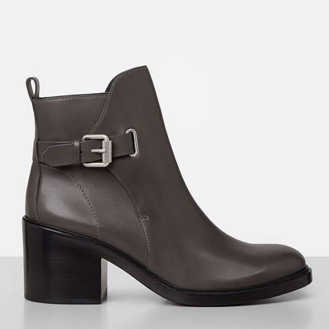 AllSaints Mink Leather Meera Boots