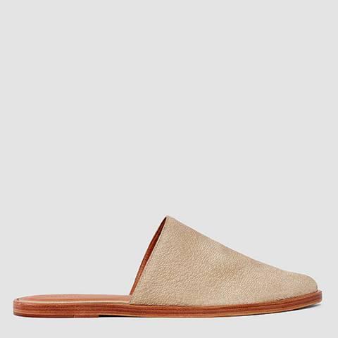 AllSaints Sand Leather Rick Slides