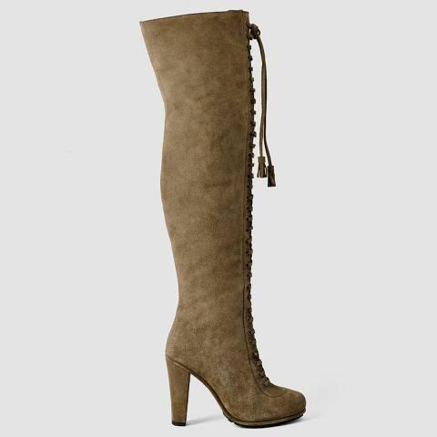 AllSaints Martora Leather Stepney Boots