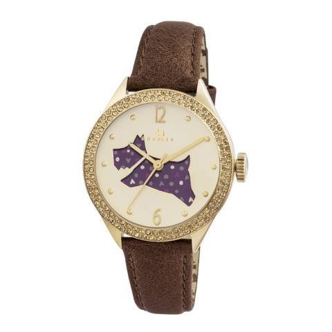 Radley Ladies' Tan The Great Outdoors Leather Strap Watch