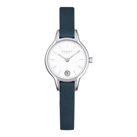 Radley Ladies' Navy Long Acre Leather Strap Watch