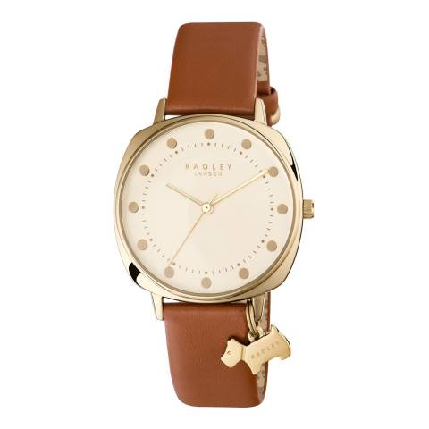 Radley Tan Kennington Leather Strap Watch