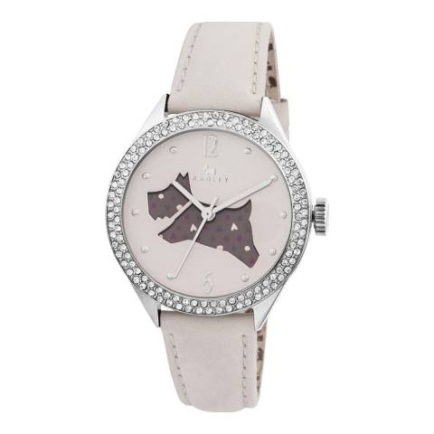 Radley Ladies' Cream The Great Outdoors  Leather Strap Watch