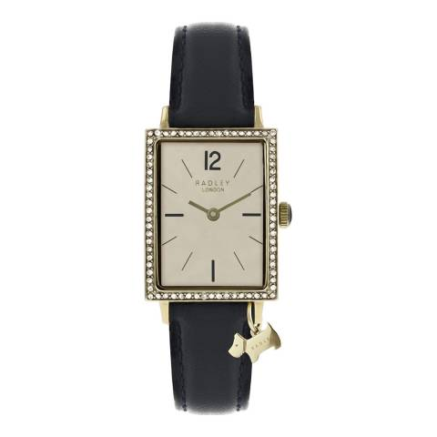 Radley Navy Blue Primrose Hill Leather Strap Watch