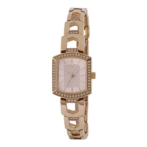 Radley Ladies' Rose Gold Grosvenor Stainless Steel Bracelet Watch