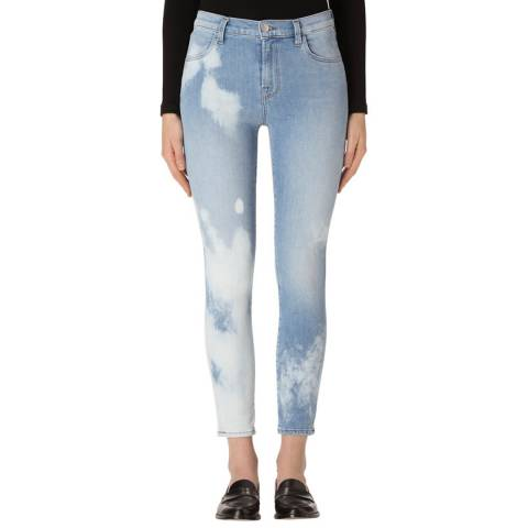J Brand Downpour Blue Alana Skinny Stretch Jeans