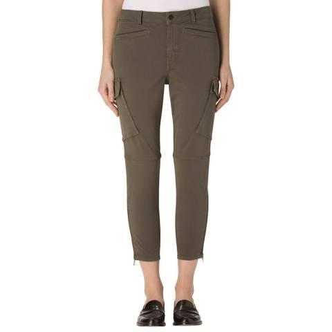 J Brand Dark Malachite Margho Utility Pant