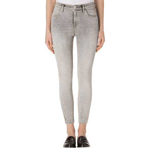 J Brand Interstellar Grey Alana Skinny Stretch Jeans