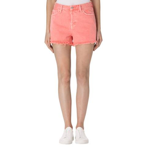 J Brand Glowing Blossom Gracie High Rise Shorts