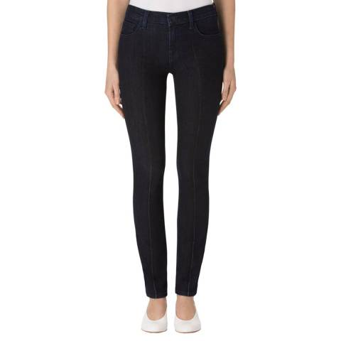 J Brand Dark Fix 811 Pintuck Skinny Stretch Jeans