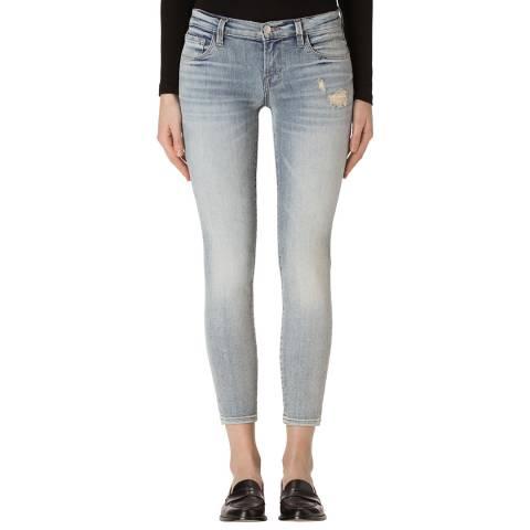 J Brand Remnant Grey 9326 Skinny Stretch Jeans