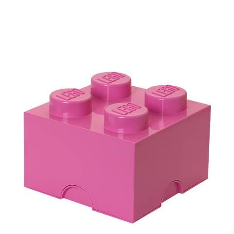 Lego Pink Brick 4 Storage Box