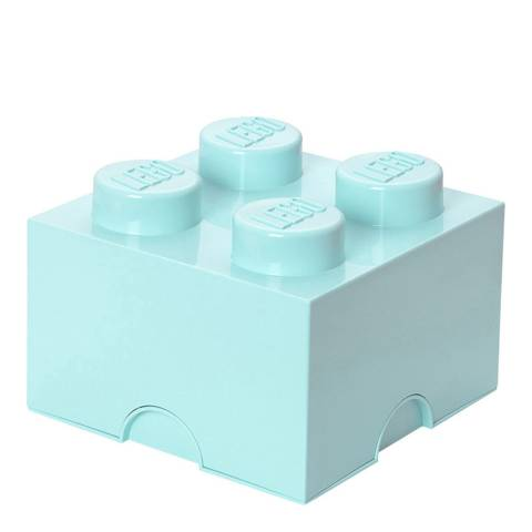 Lego Aqua 4 Brick Storage Box