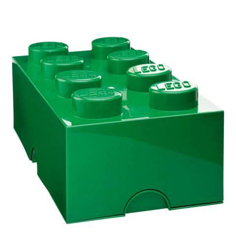 Lego Green 8 Brick Storage Box