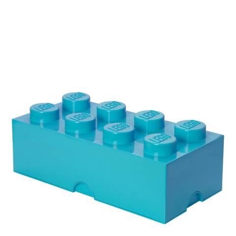 Lego Azure 8 Brick Storage Box