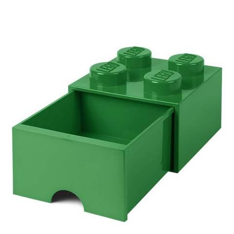Lego Brick Draw 4, Dk Green