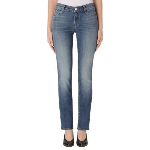J Brand Wistful Blue Maude Cigarette Stretch Jeans