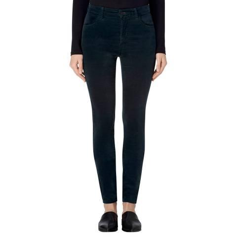 J Brand Moorland Green 815 Skinny Stretch Jeans