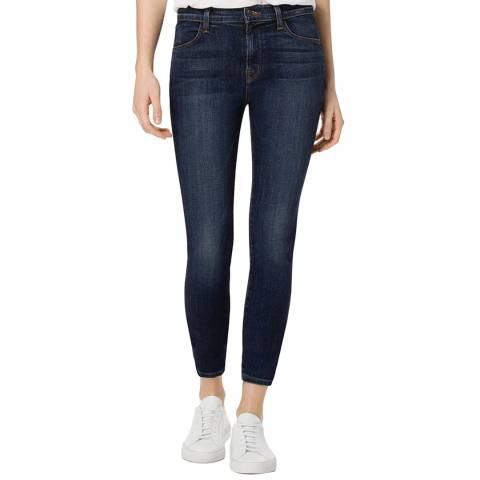 J Brand Decoy Blue Alana Cropped Skinny Stretch Jeans