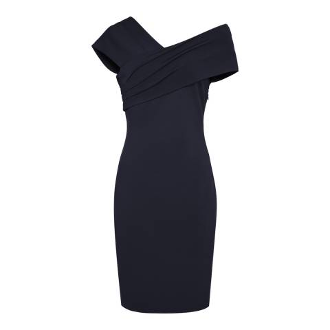 Reiss Night Navy Cristiana Dress