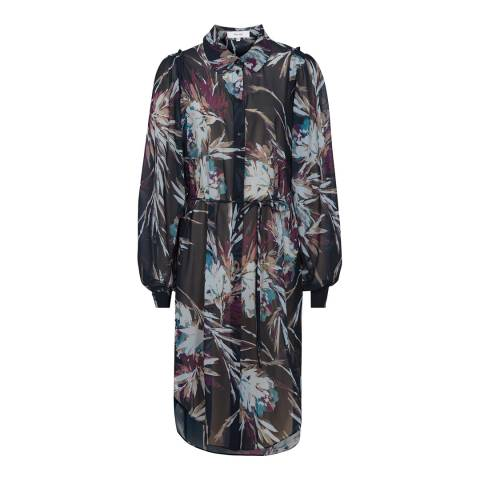 Reiss Multi Antonella Shirt Dress