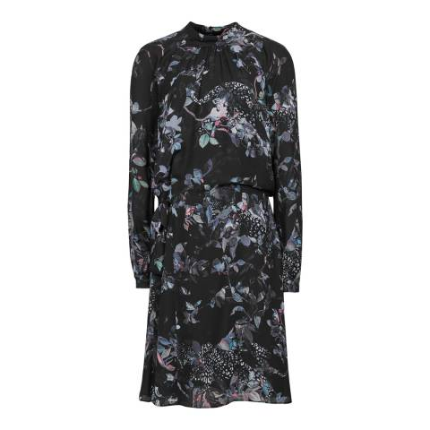 Reiss Multi Saturn Print Dress