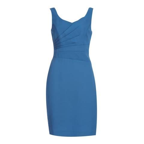 Reiss True Blue Alessia Fitted Dress