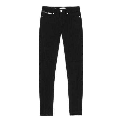 Reiss Black Alexia Skinny Stretch Jeans