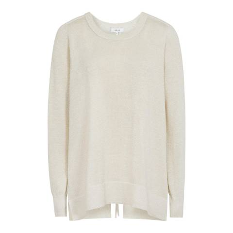 Reiss Oatmeal Reagan Jumper