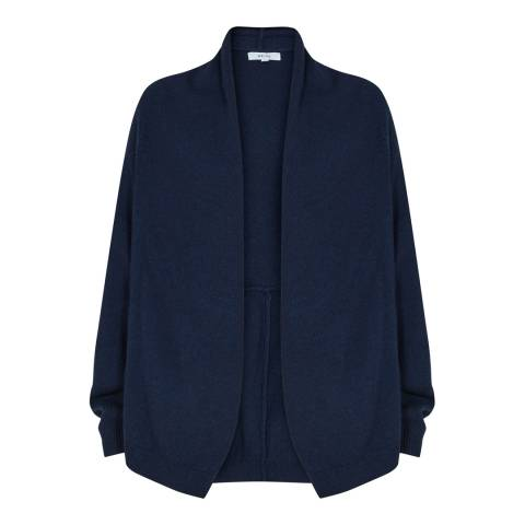 Reiss Night Navy Oscar Knitted Cardigan