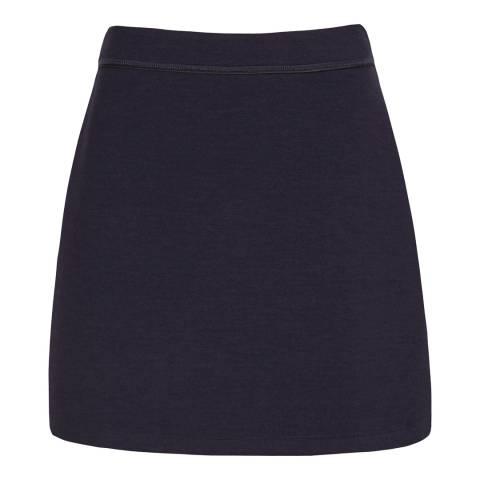 Reiss Night Navy Greta Mini Skirt