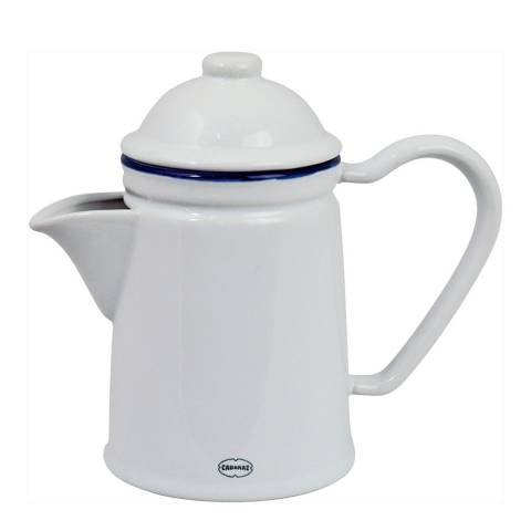 Cabanaz White Tea/Coffee Pot
