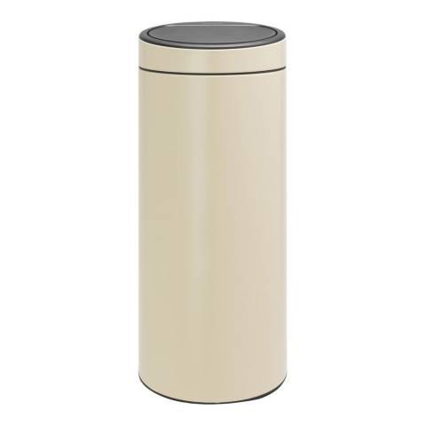 Brabantia Almond New Touch Bin, 30L