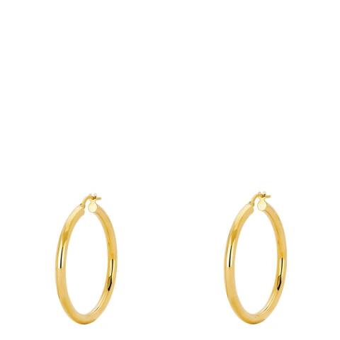 Chloe Collection by Liv Oliver Gold Hoop Earrings