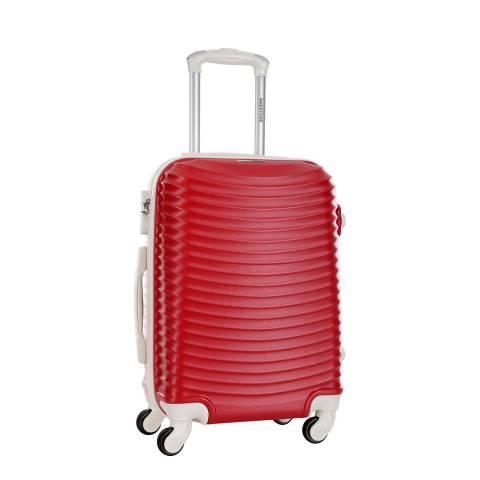 Bagstone Red 4 Wheel Honey Suitcase 60cm