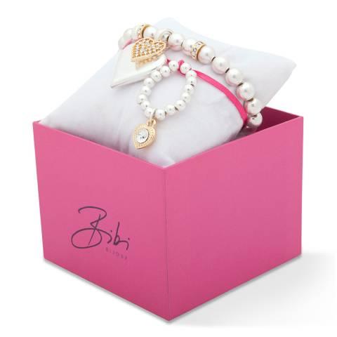 BiBi Bijoux Gold Charm Bracelet