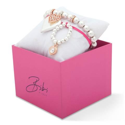 BiBi Bijoux Rose Gold Charm Bracelet