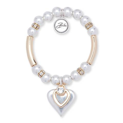BiBi Bijoux Gold Heart Bracelet