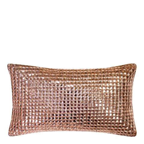 Kylie Minogue Square Diamond Rose Gold Cushion, 18x32cm