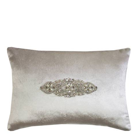 Kylie Minogue Palermo Oyster Cushion, 25x35cm