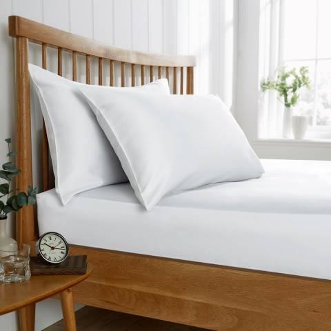 Behrens 200TC King Flat Sheet, White