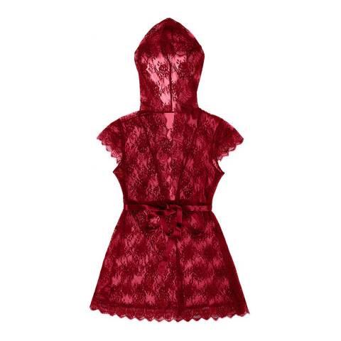 Pleasure State White Label Jester Red D'Arcy Delatour Robe