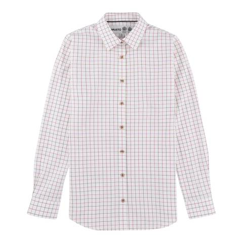Musto Pink Moss Check Country Shirt